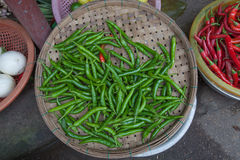 Vegetables for sale on the market in Hoi An Royalty Free Stock Image
