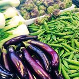 Vegetables for sale at market Royalty Free Stock Image