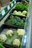Vegetables on sale at store Stock Photo
