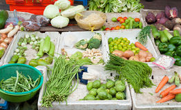Vegetables for sale in Vietnam street Stock Image