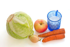Vegetables for salting of cabbage Stock Photos