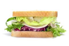 Vegetables sandwich Royalty Free Stock Photography