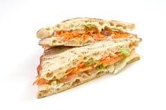 Vegetables sandwich Royalty Free Stock Photos