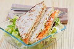 Vegetables Sandwich Stock Images