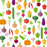 Vegetables - Seamless Pattern royalty free illustration