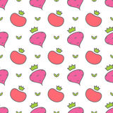 Vegetables seamless pattern Royalty Free Stock Photography