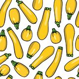 Vegetables seamless pattern Stock Photography