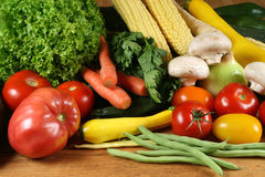 Vegetables selection Stock Photos