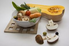 Vegetables selection Stock Images