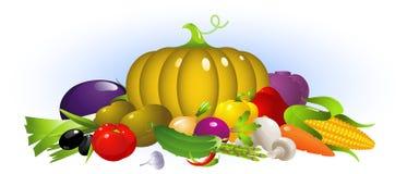 Vegetables set Royalty Free Stock Photo
