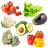 Vegetables set 9 Stock Images