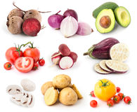 Vegetables set 11 royalty free stock photo