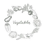 Vegetables set Royalty Free Stock Photos