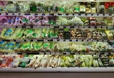 Vegetables on the shelf