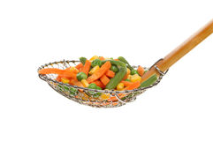 Vegetables in a sieve Stock Photos