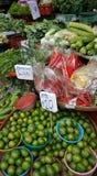 Vegetables sold in the bangkok market. Stock Images
