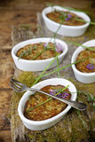 Vegetables souffle Stock Images