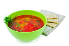 Vegetables soup. Royalty Free Stock Images