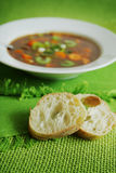 Vegetables soup Royalty Free Stock Photos