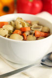 Vegetables soup Stock Photo