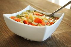 Vegetables soup Stock Photos