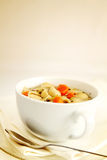 Vegetables soup in a cup Royalty Free Stock Photo