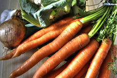 Vegetables - soup ingredients Royalty Free Stock Photography