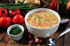 Vegetables soup Royalty Free Stock Images