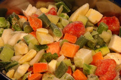 Vegetables for soups Royalty Free Stock Images
