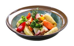 Vegetables sous vide royalty free stock image