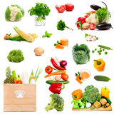 Vegetables and spices Royalty Free Stock Photo