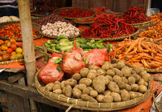 Vegetables and spices photo taken in Bogor Indonesia Stock Photo