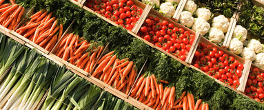 Vegetables spirit Royalty Free Stock Image