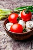 Vegetables for spring salad Stock Image