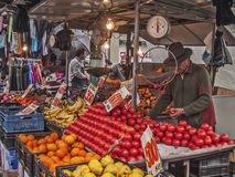 Vegetables stall Stock Photography