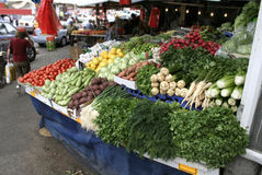 Vegetables stalll in haifa Royalty Free Stock Photo