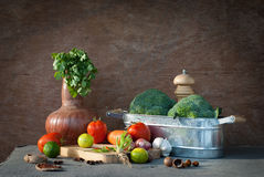 Vegetables still life Stock Photography