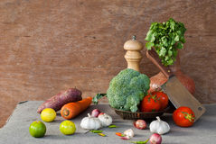 Vegetables still life Stock Photos