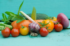 Vegetables still life Royalty Free Stock Photo