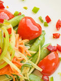 Vegetables stir-fry Royalty Free Stock Image