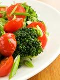 Vegetables stir-fry Stock Photos