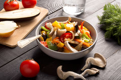 Vegetables stir fry Royalty Free Stock Images