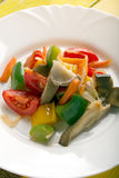 Vegetables stir fry Stock Image