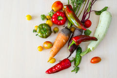 Vegetables in stock. Stock Photography