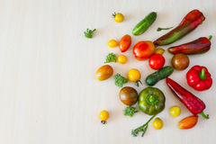 Vegetables in stock. Royalty Free Stock Photography