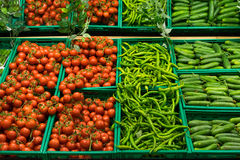 Vegetables. In supermarket,Istanbul Trukey Stock Image