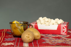 Vegetables on the table Stock Photos