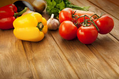Vegetables on table Royalty Free Stock Photography