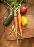 Vegetables on table Royalty Free Stock Photo
