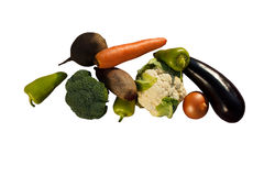 Vegetables. Tasty and full of vitamins Stock Images